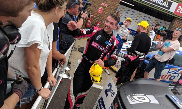 Snetterton 2019, Double Podium for BTC Racing