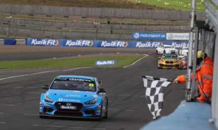 Knockhill provides silver lining after EXCELR8 charge